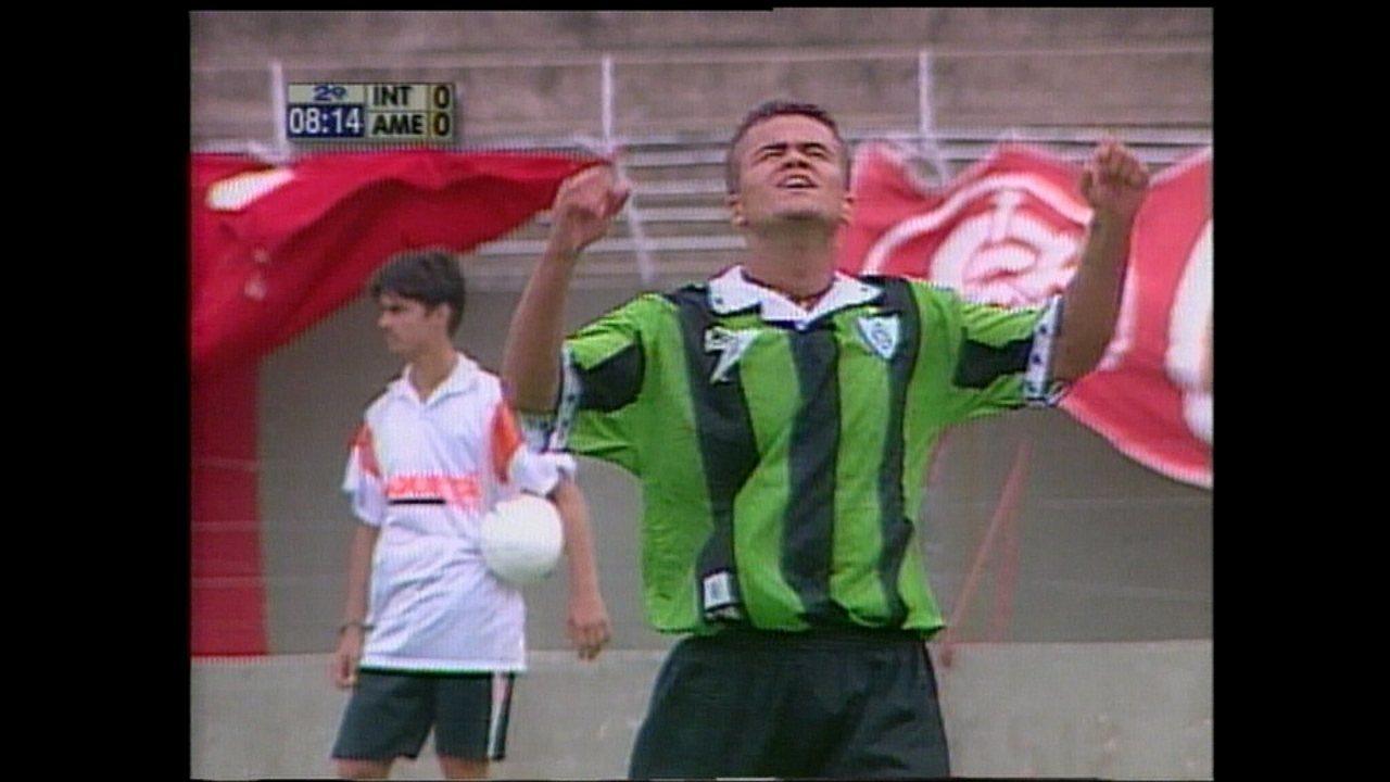 América-MG vence Internacional, no Beira-Rio, pela Copa Sul-Minas de 2000