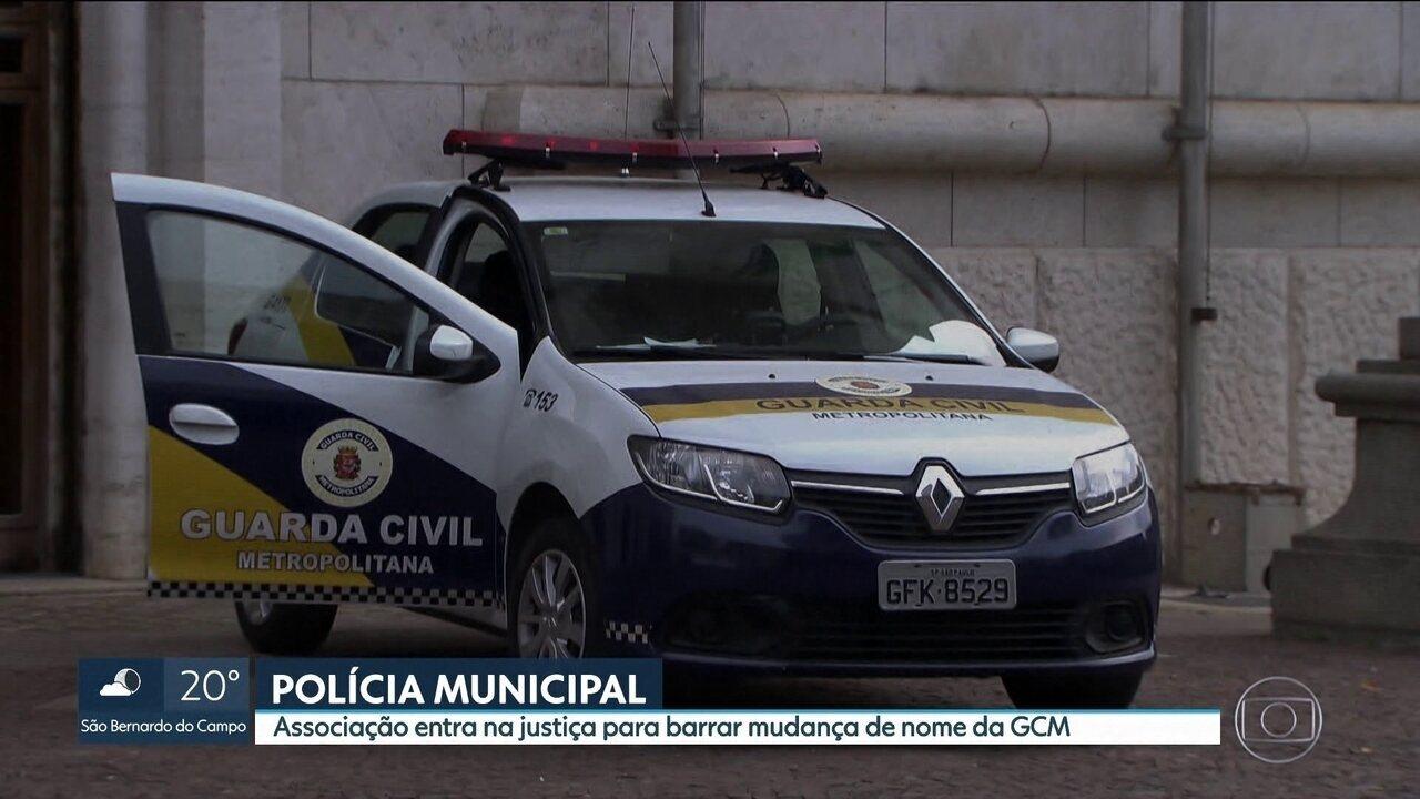 Associação entra na Justiça para barrar mudança de nome da Guarda Civil Metropolitana