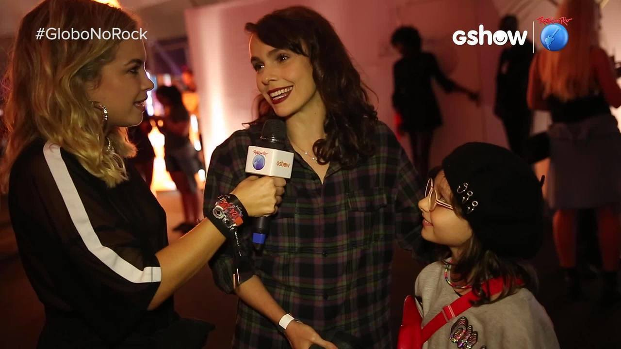 Lua Blanco entrevistou a atriz Débora Falabella