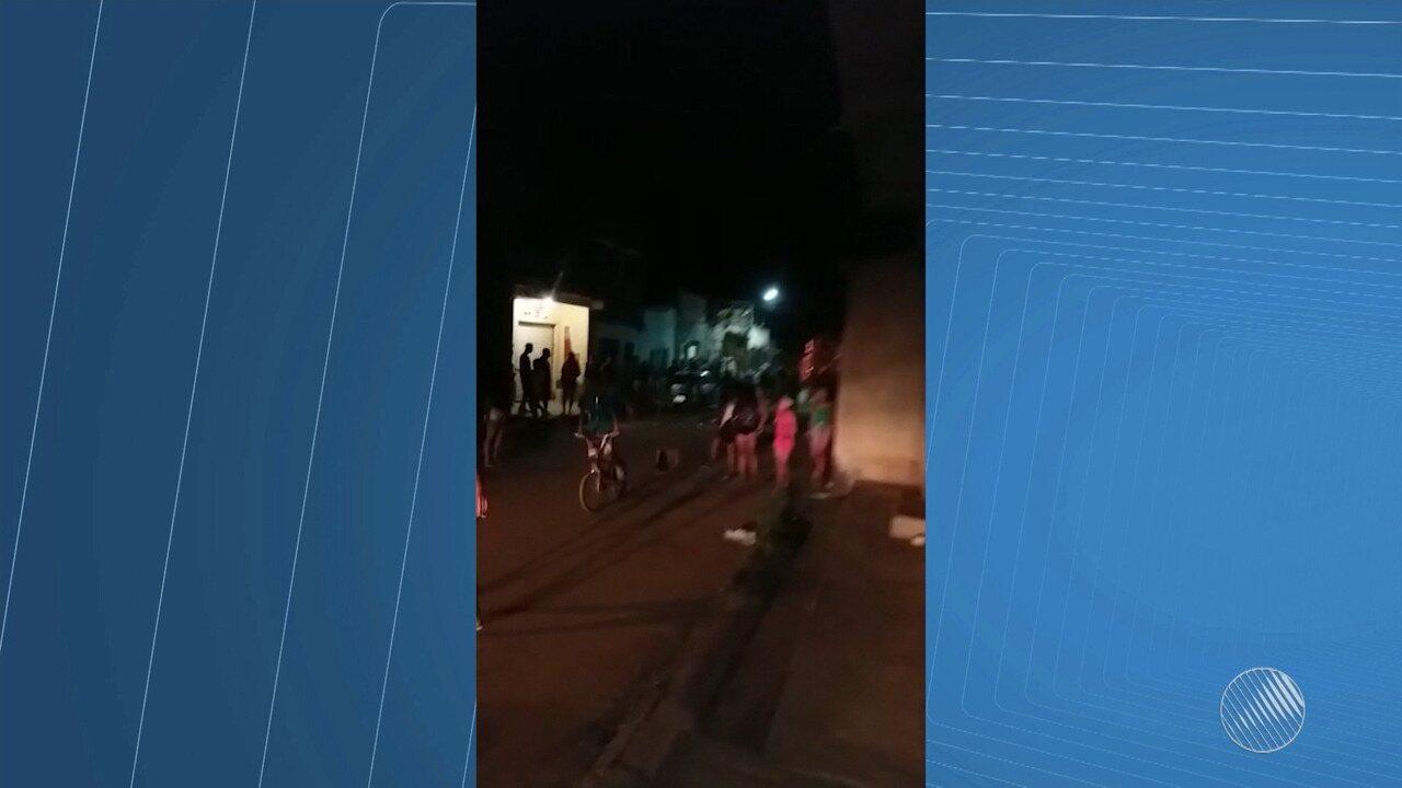 Mulher é morta em tiroteio e confusão após jogo em Itabuna