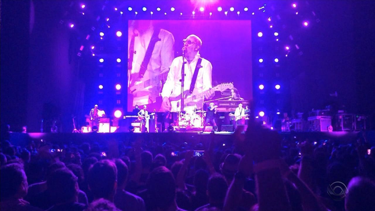 The Who encerra turnê no Brasil em Porto Alegre