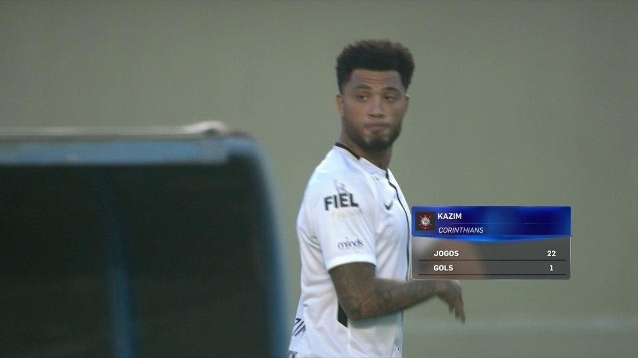 Com Jô lesionado, Kazim deverá ter nova chance no Corinthians