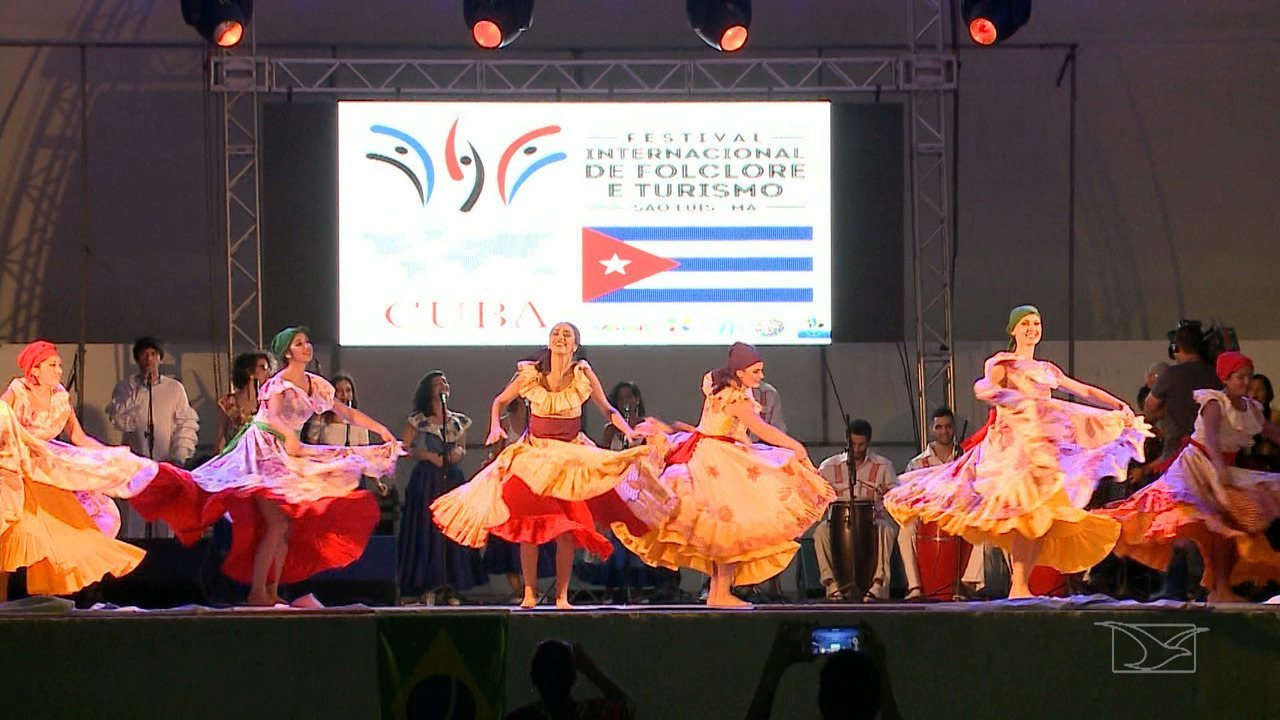 Repórter Mirante mostra a diversidade de cultural do Festival Internacional de Folclore