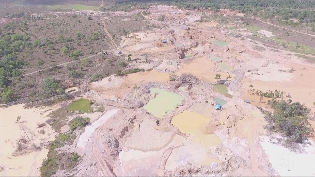 Operação da Polícia Federal desarticula garimpo ilegal em Tartarugalzinho, no Amapá