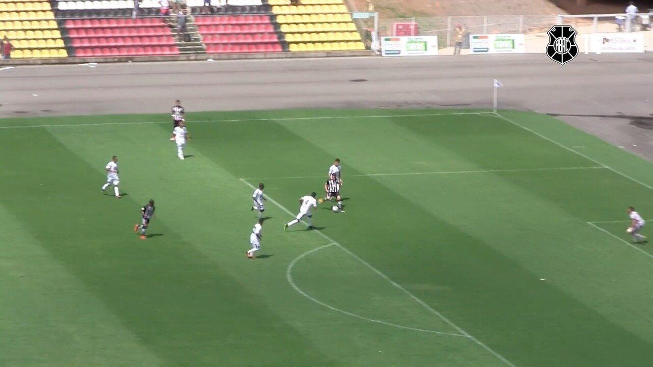 O gol de Rio Branco-ES 0 x 1 Atlético-ES, pela Copa Espírito Santo 2017