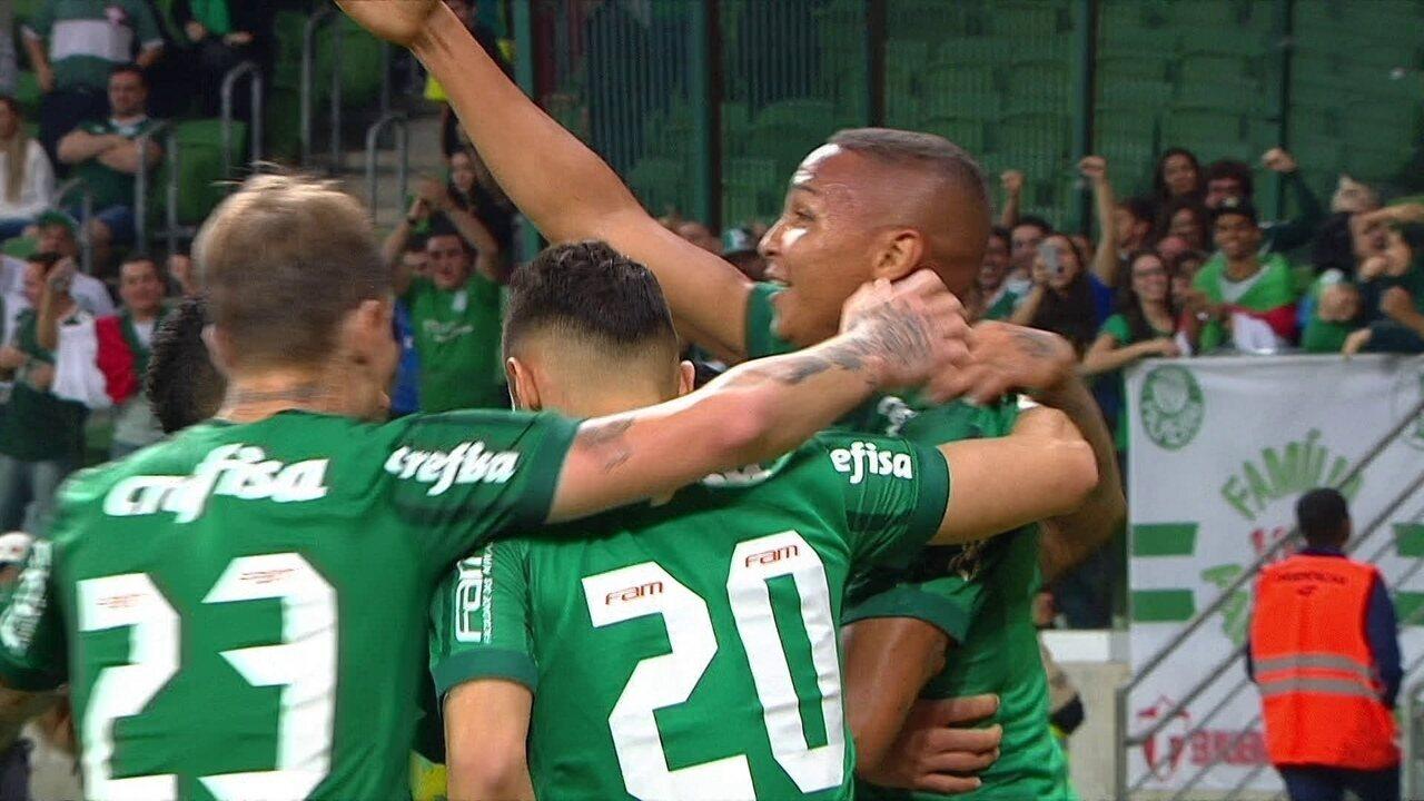 Veja os três gols marcados por Deyverson no Campeonato Brasileiro