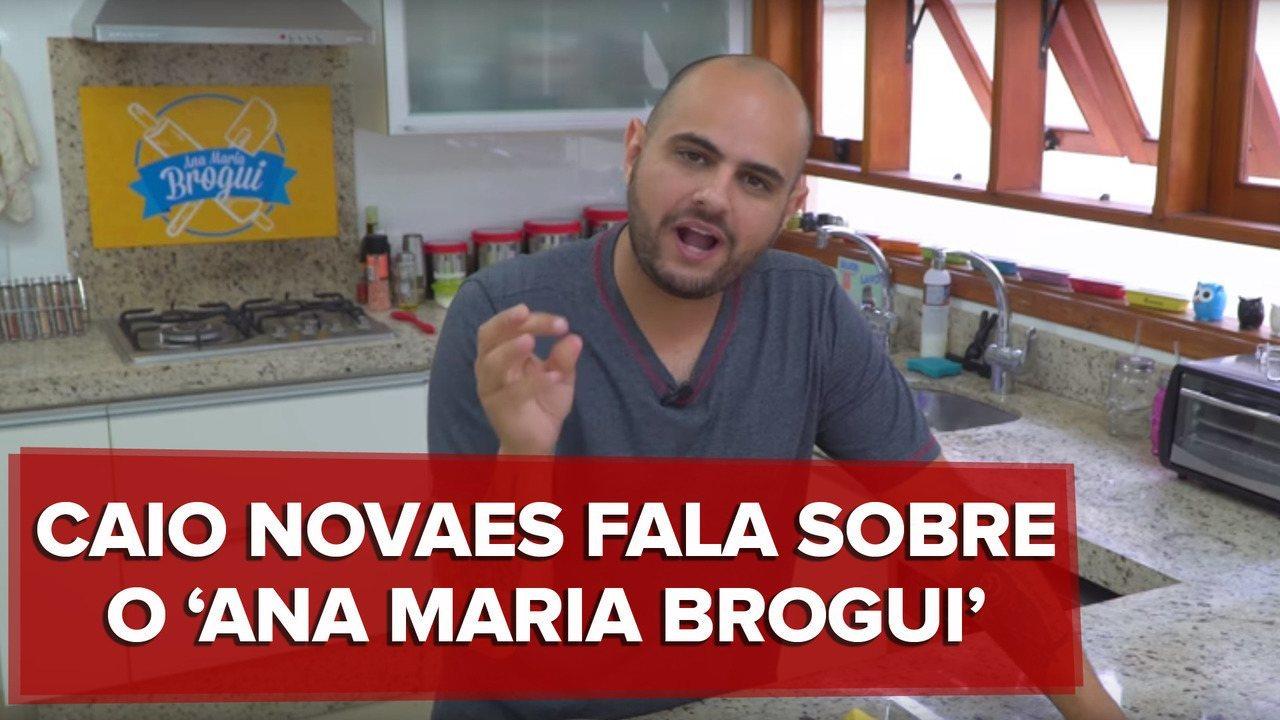 Caio Novaes fala sobre seu canal Ana Maria Brogui, no Youtube
