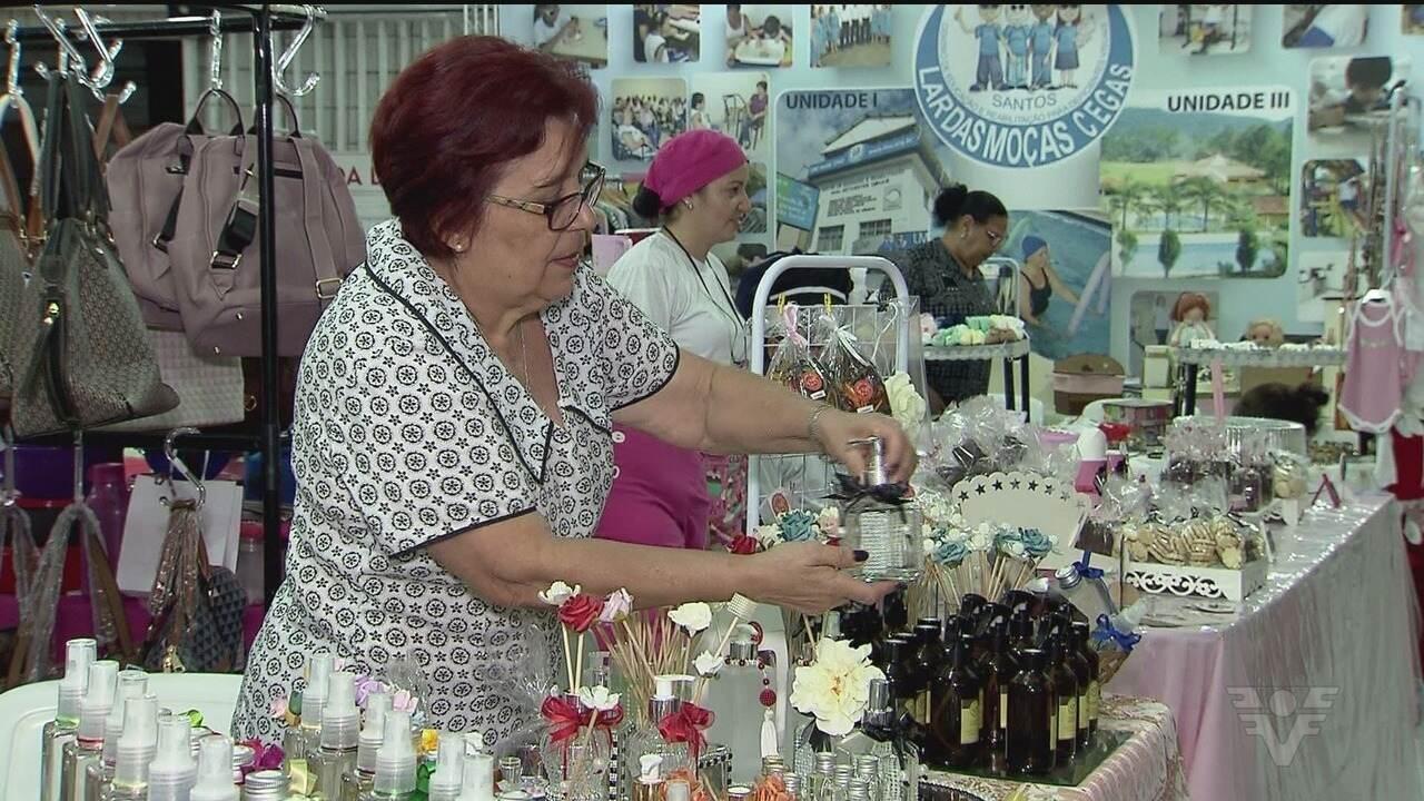 Lar das Moças Cegas realiza bazar beneficente
