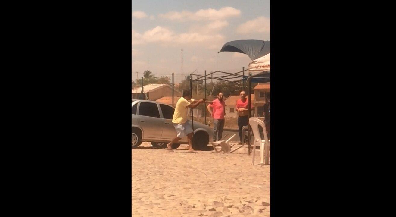 Homem assalta motoristas no entorno do aeroporto de Fortaleza