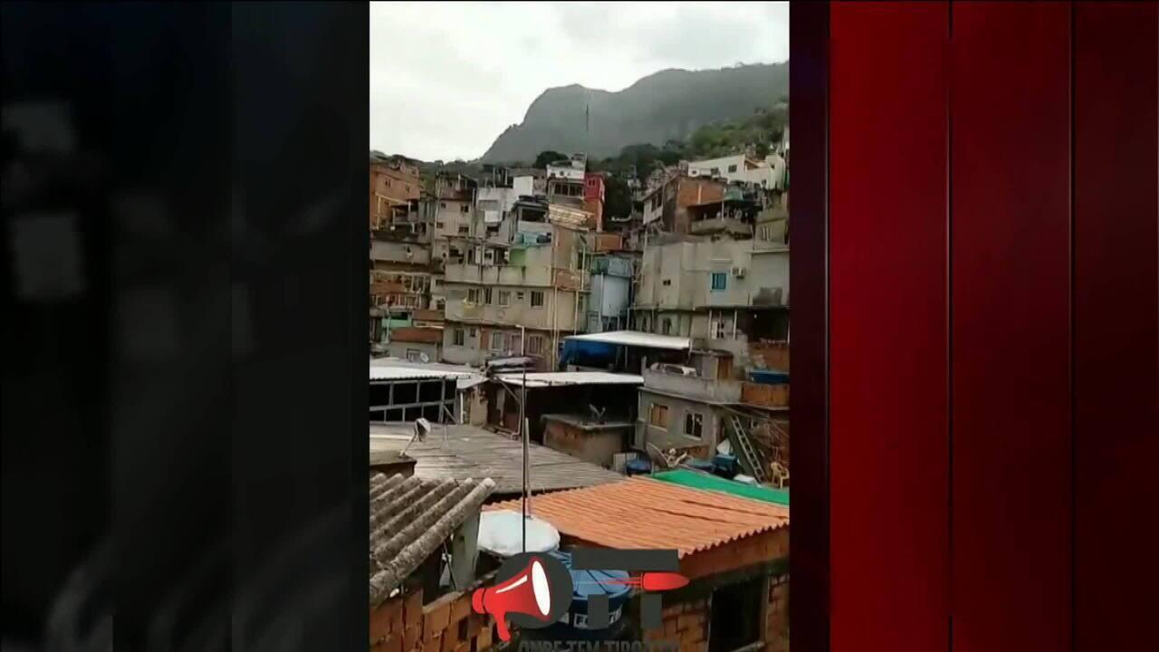 Tiroteio na Comunidade da Rocinha, na Zona Sul do Rio, deixa um homem ferido