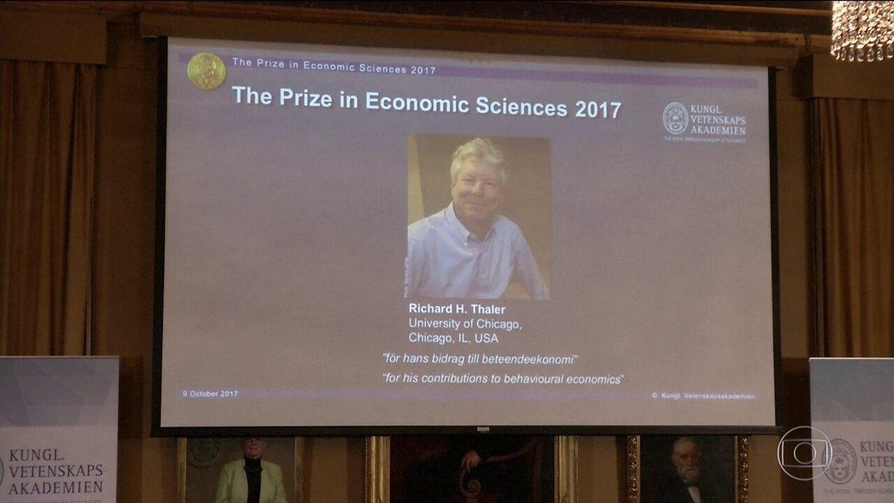 Nobel de Economia sai para americano que defende uma economia mais humana