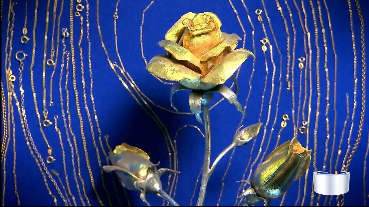Santuário Nacional recebe uma rosa de ouro