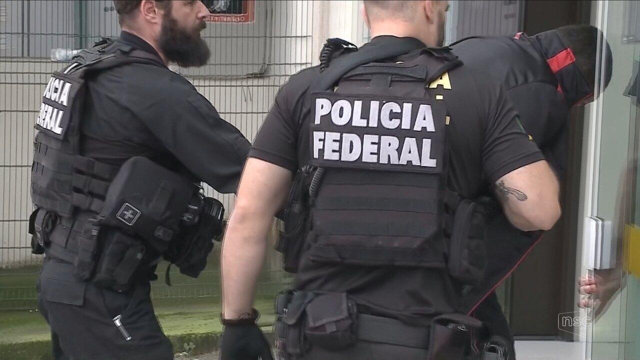PF cumpre mandados em operações contra tráfico internacional de cocaína