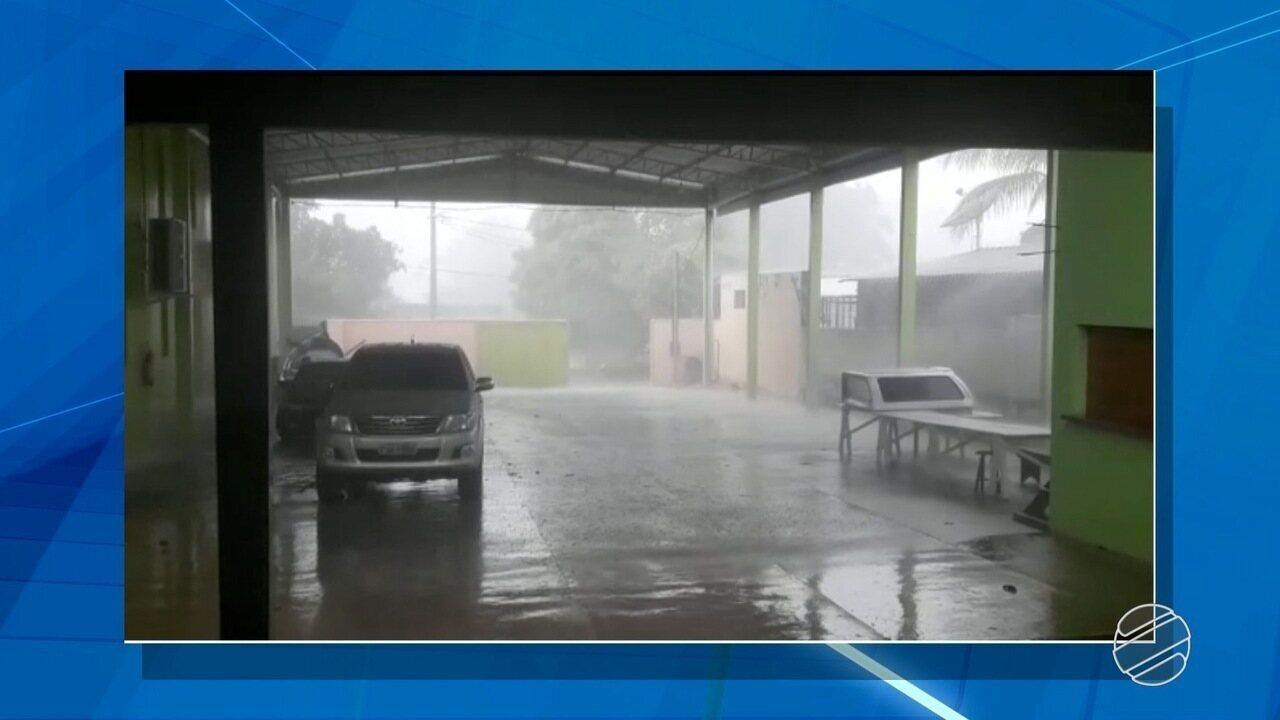 Chuva dura 20 minutos, mas causa grandes estragos em Paraíso das Águas, MS