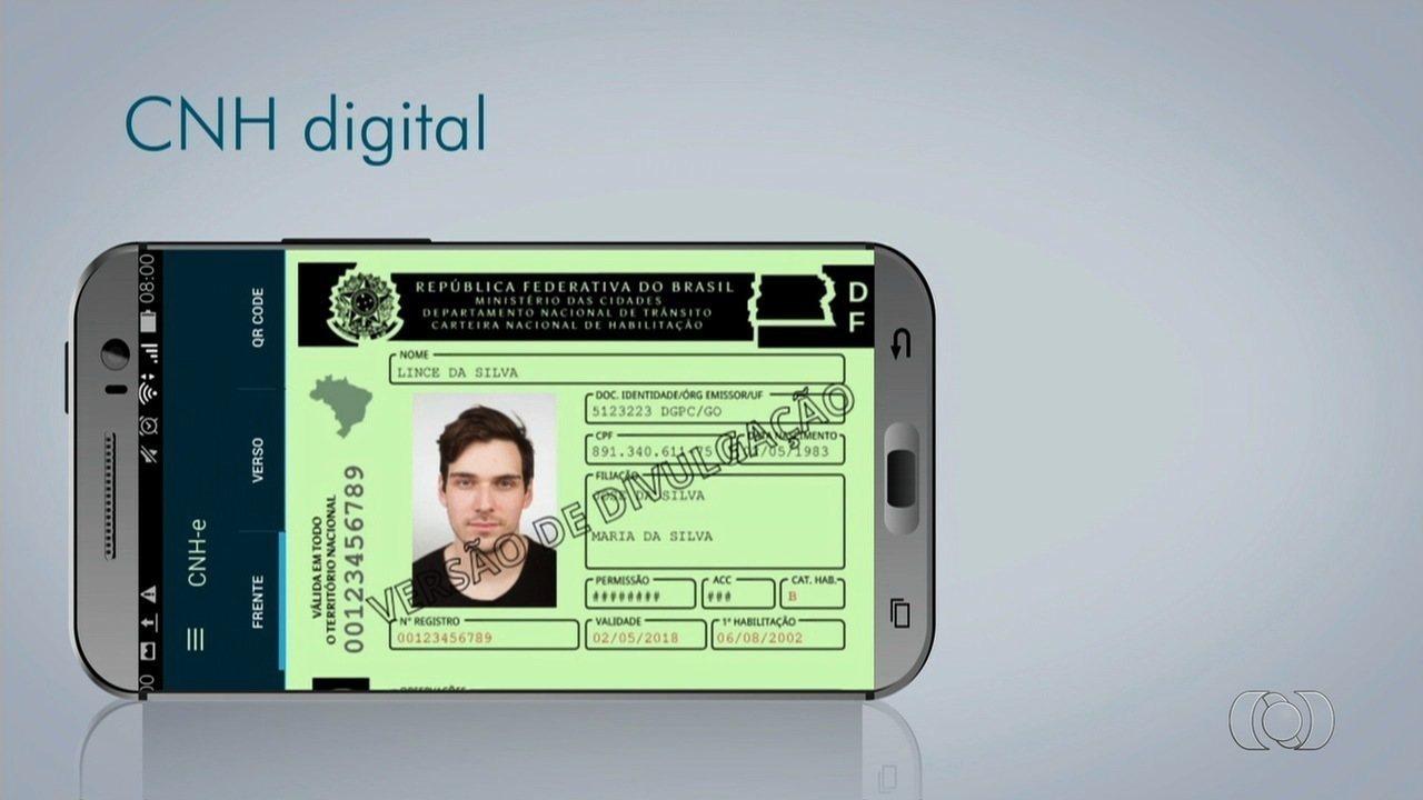 Goiás é o primeiro estado a emitir a CNH Digital