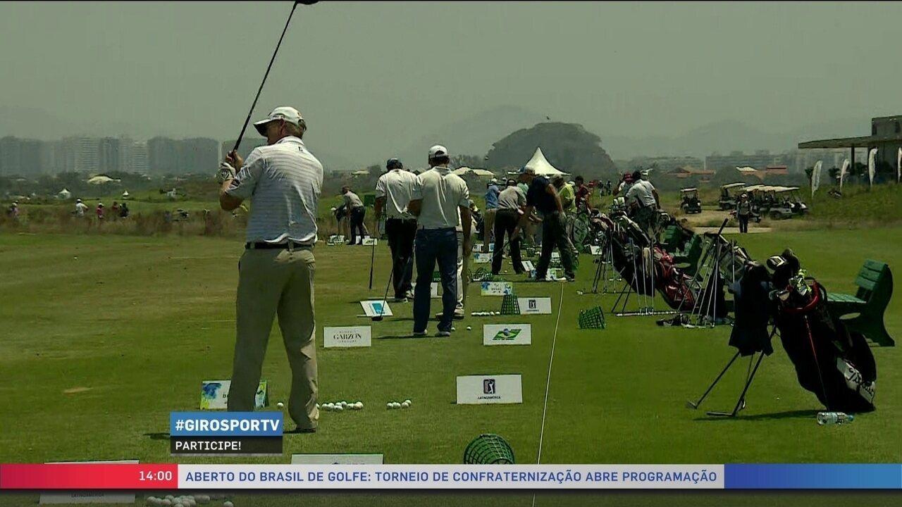 Torneio da Confraternização abre Aberto do Brasil de Golfe