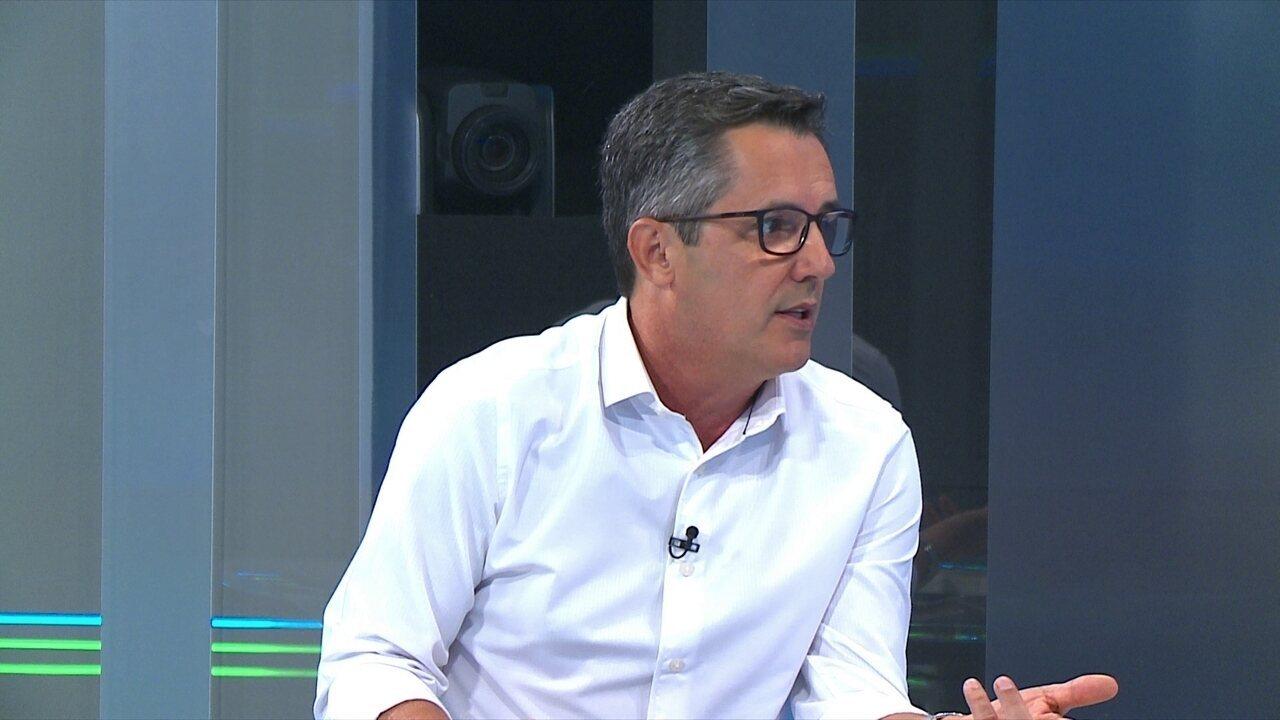 Lino elogia Robinho e diz que Galo briga por vaga na Libertadores