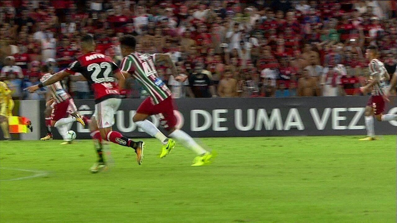 Melhores momentos: Flamengo 1 x 1 Fluminense pela 27ª rodada do Brasileirão 2017