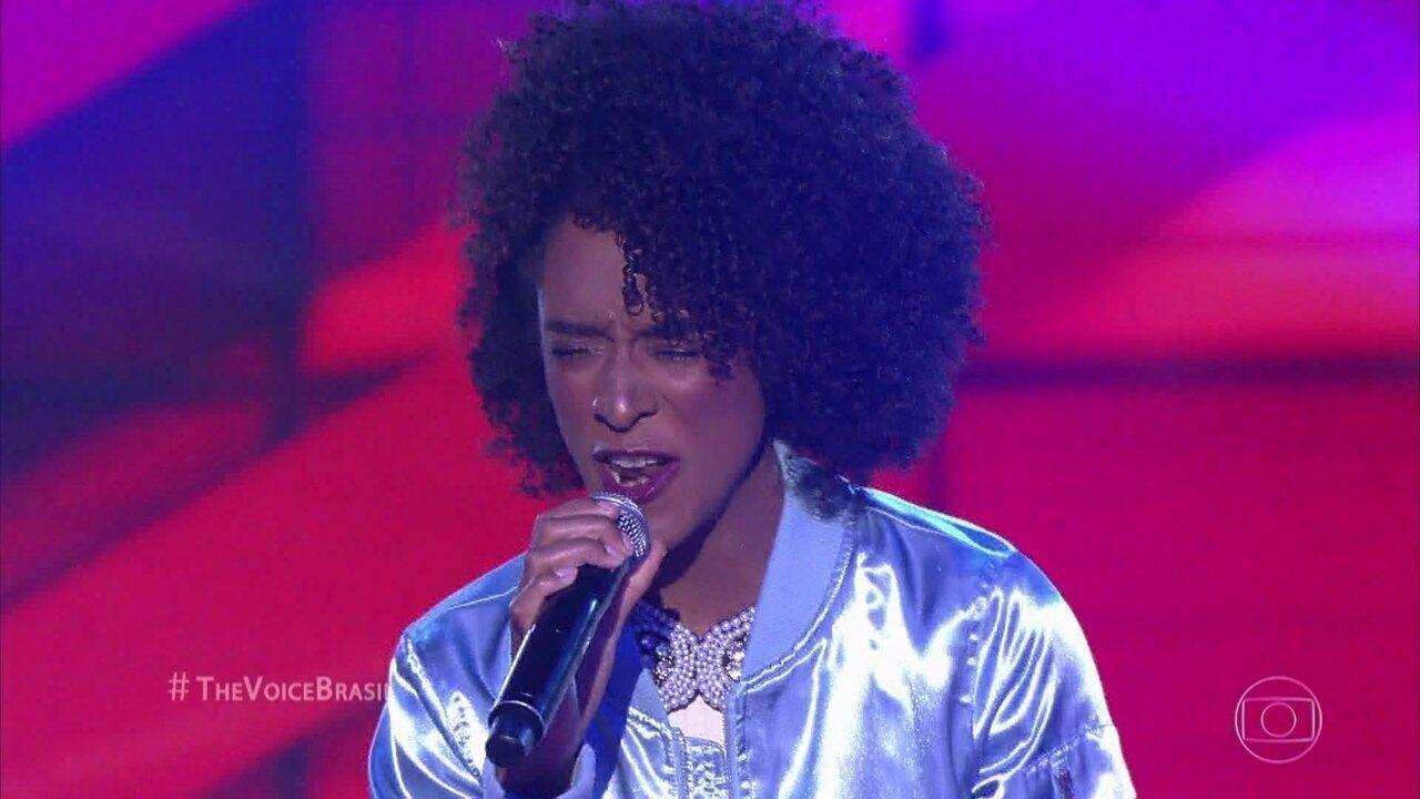 Marília Lopes canta 'Garganta'