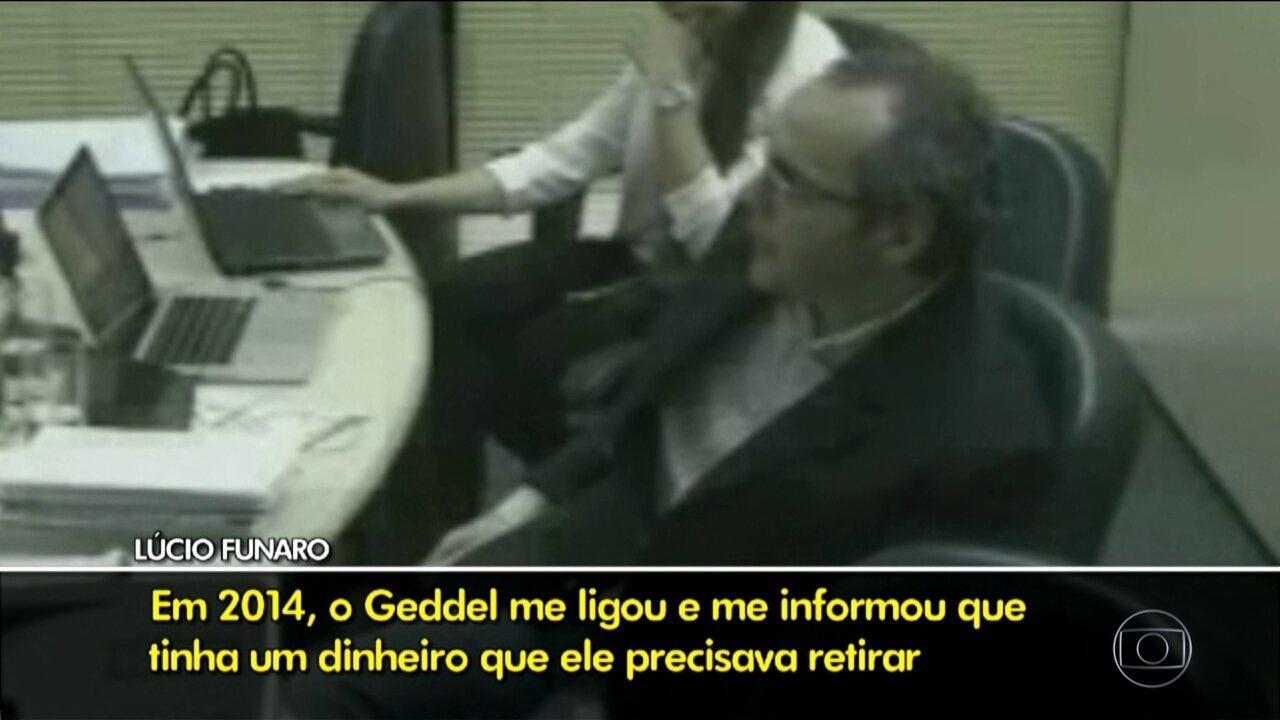 Divulgados trechos do depoimento do doleiro Lúcio Funaro à PGR