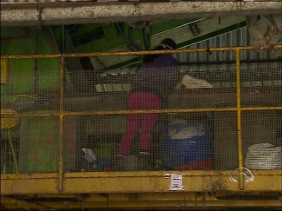 Feto foi encontro em usina de reciclagem de Passo Fundo, RS