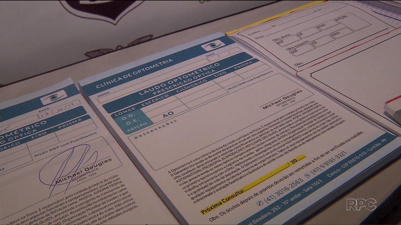 2a6cfee73929d Polícia desmonta esquema de emissão ilegal de receitas para óculos de grau