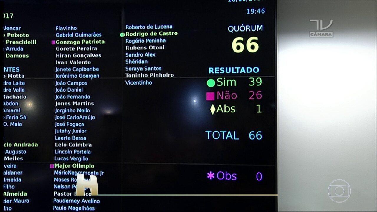 CCJ aprova parecer que pede o arquivamento da segunda denúncia contra o presidente Temer