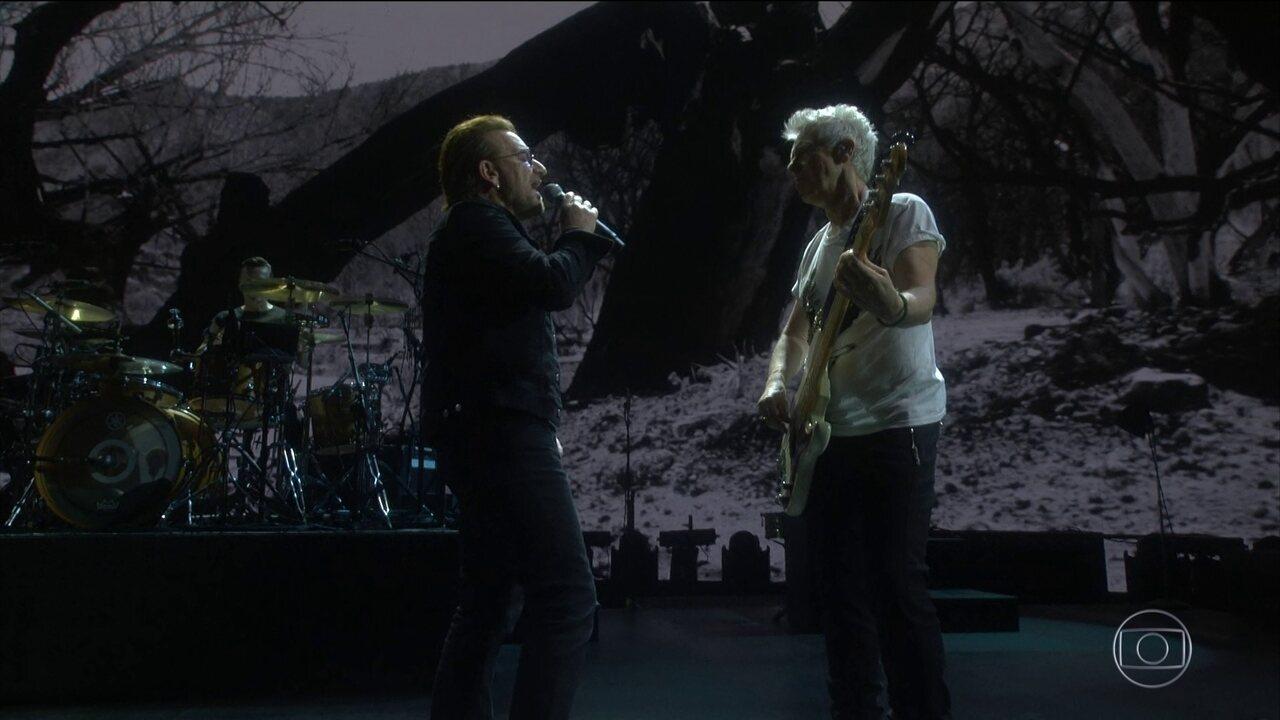 U2 faz primeiro dos quatro shows no Brasil na capital paulista