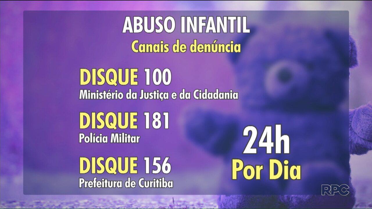 Para denunciar casos de abuso sexual infantil não é preciso provas, basta uma suspeita