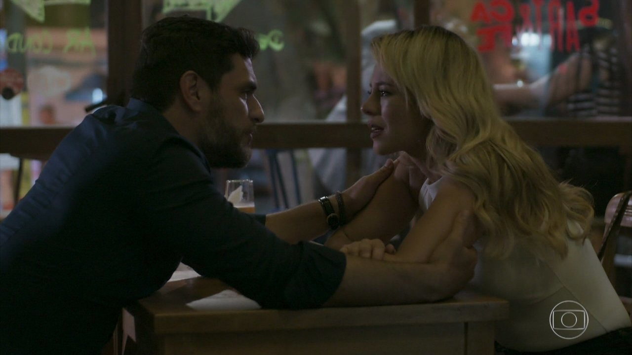 Caio e Jeiza decidem terminar o relacionamento