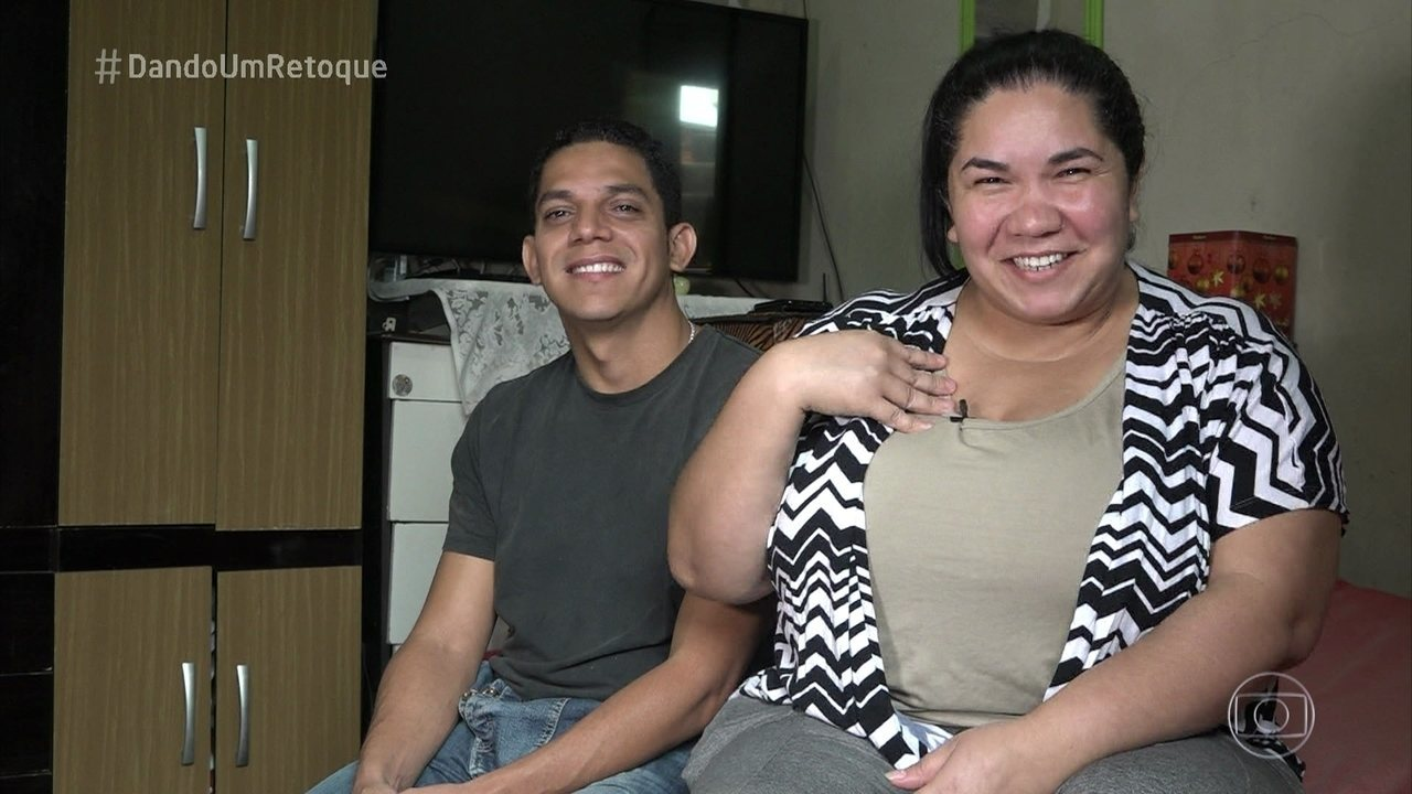 Mayriane sonha em reformar sua casa no 'Dando um Retoque'