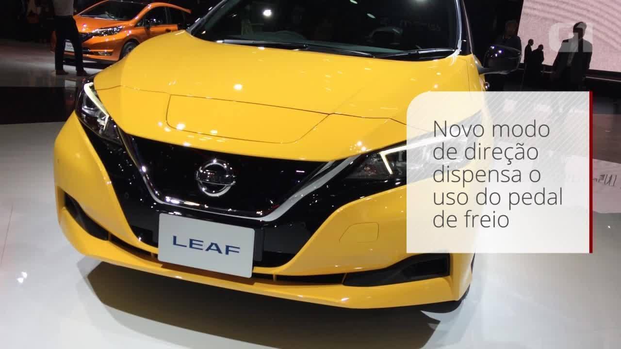 Nova geração do elétrico Nissan Leaf será vendida no Brasil