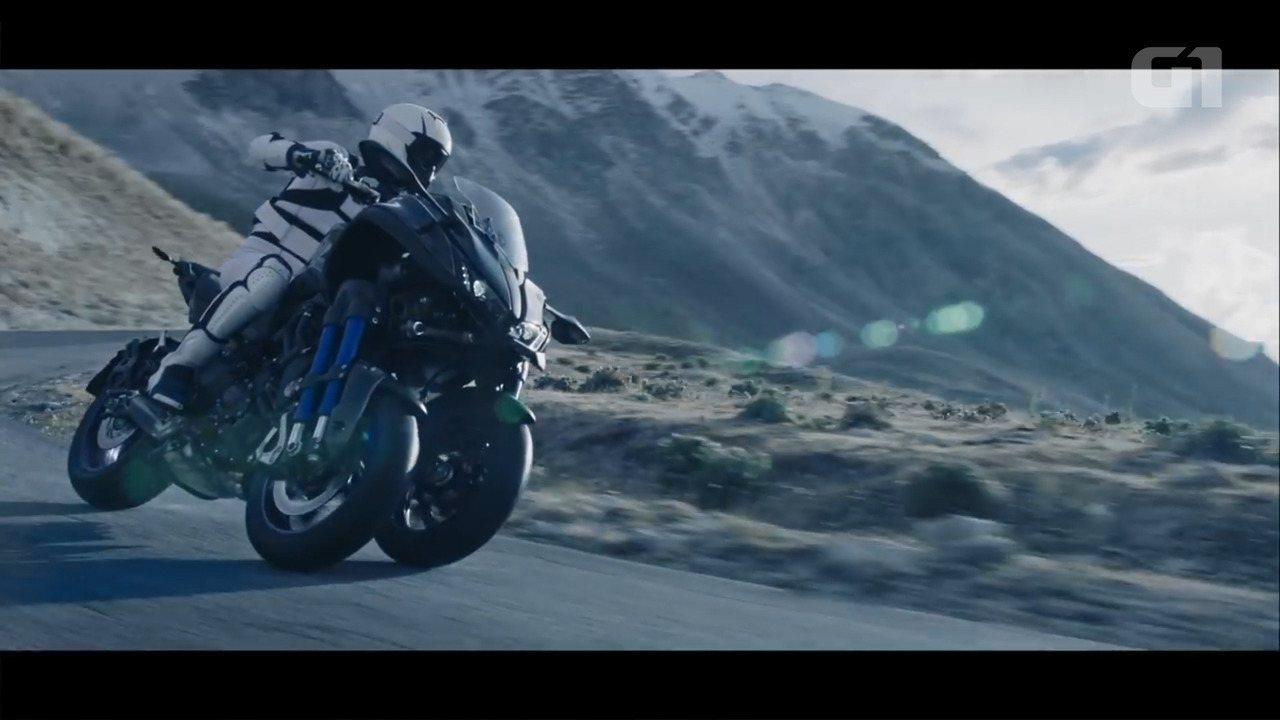 Yamaha aposta em primeira moto de alta cilindrada de 3 rodas