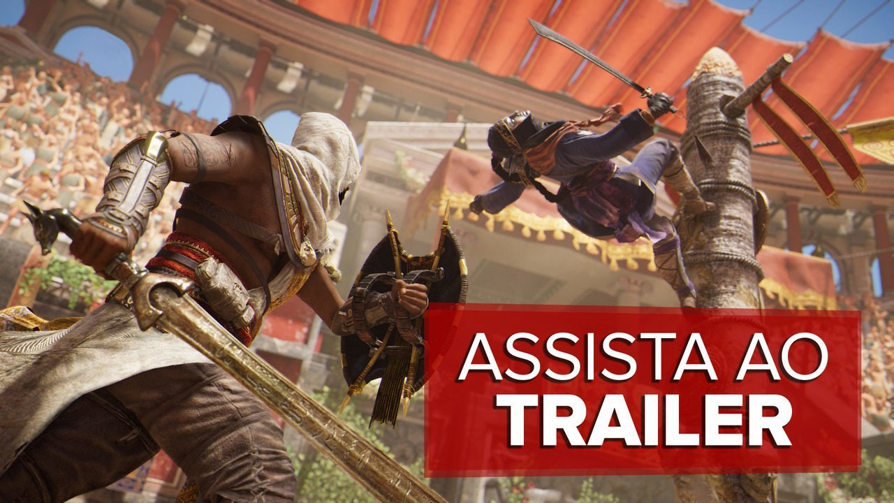 Veja o trailer de lançamento de 'Assassin's Creed Origins'
