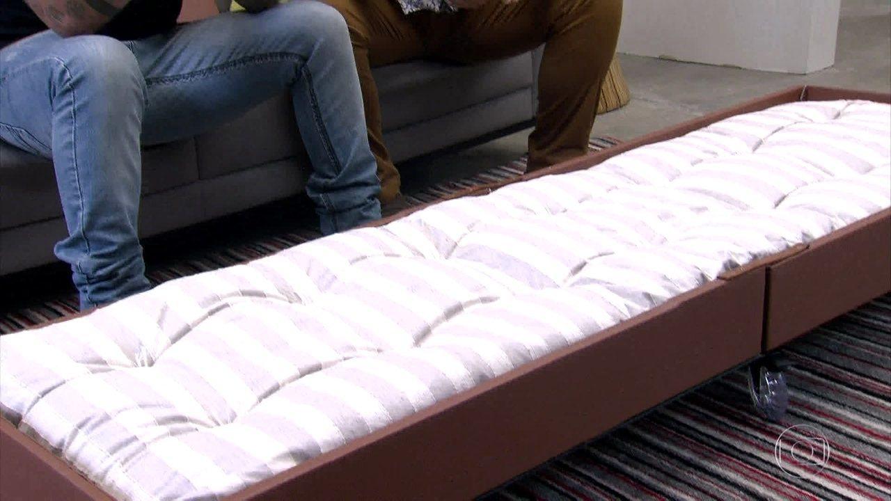 Mesa de centro dobr vel vira cama aprenda a fazer de casa gshow - Mesa para cama ...