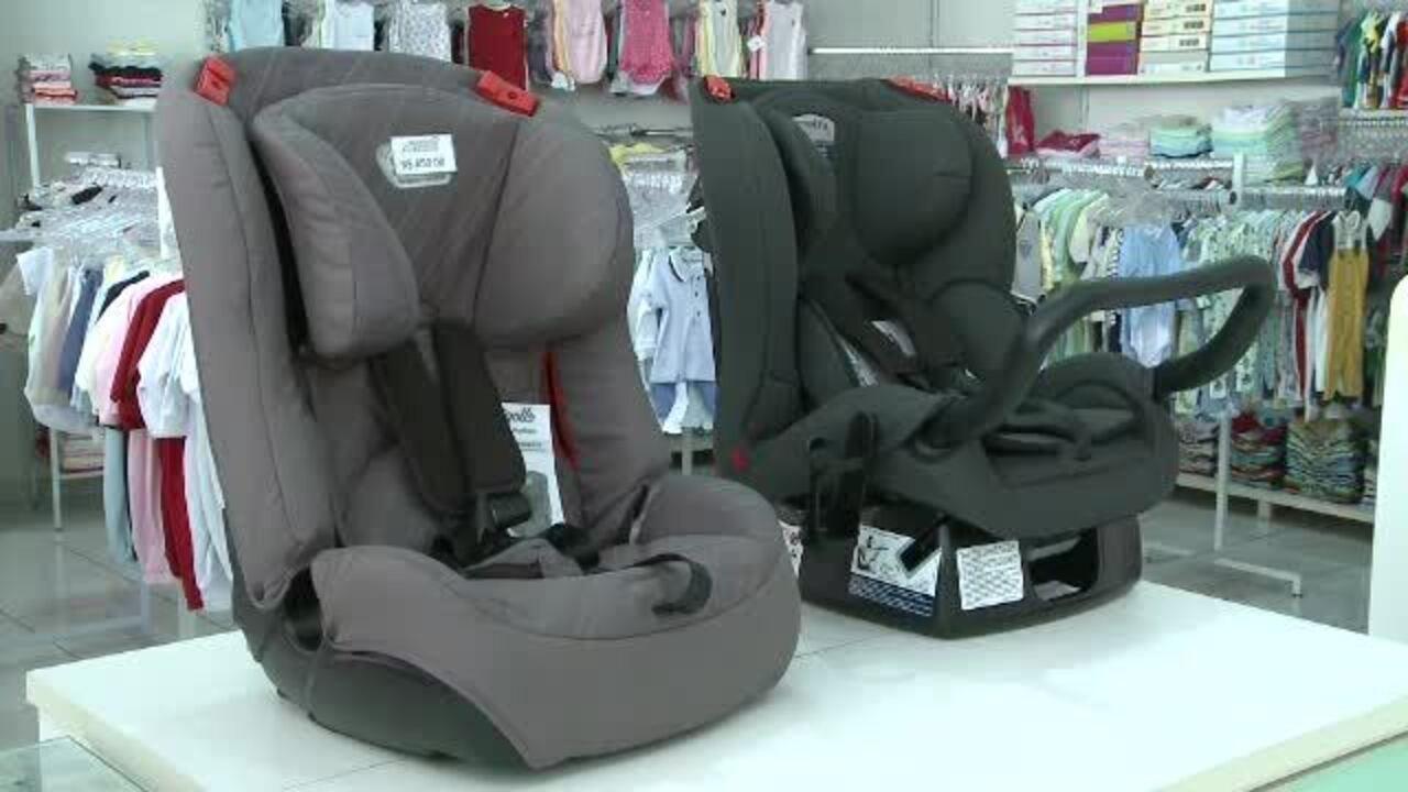 Cresce o número de infrações para motoristas que transportam crianças sem cadeirinha