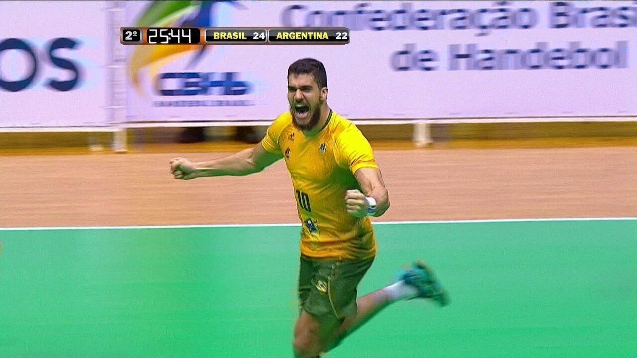 Melhores momentos: Brasil 26 x 23 Argentina pela final do Torneio 4 Nações