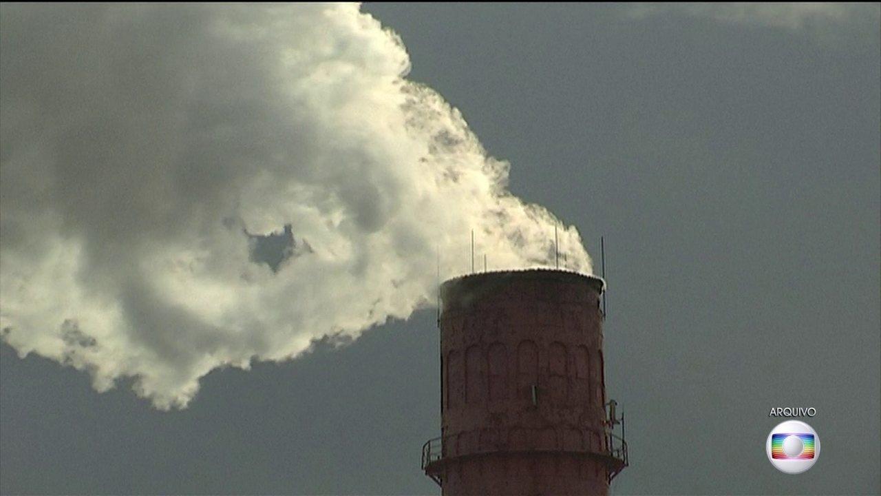 Concentração de gás carbônico atinge nível recorde mundial