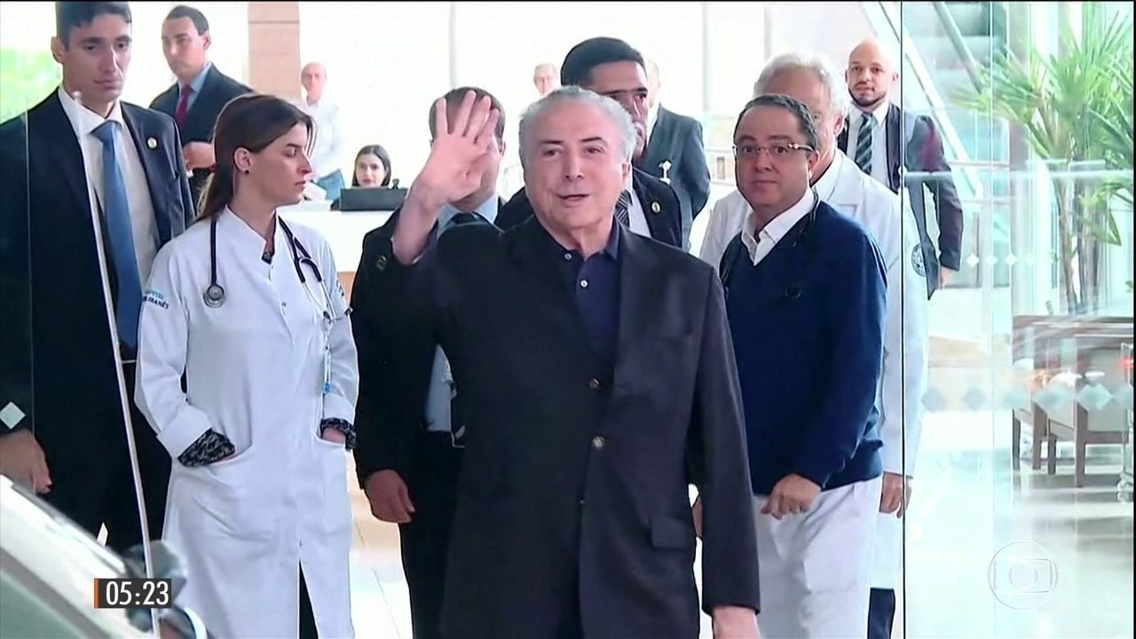 Resultado de imagem para temer retorna a brasilia