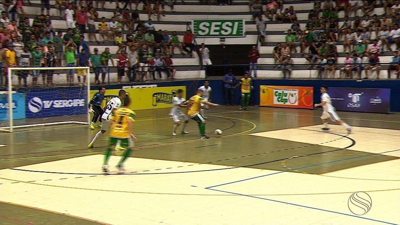 Copa TV Sergipe: Lagarto sai na frente, Aracaju empata e 1º jogo da final termina em 2 a 2