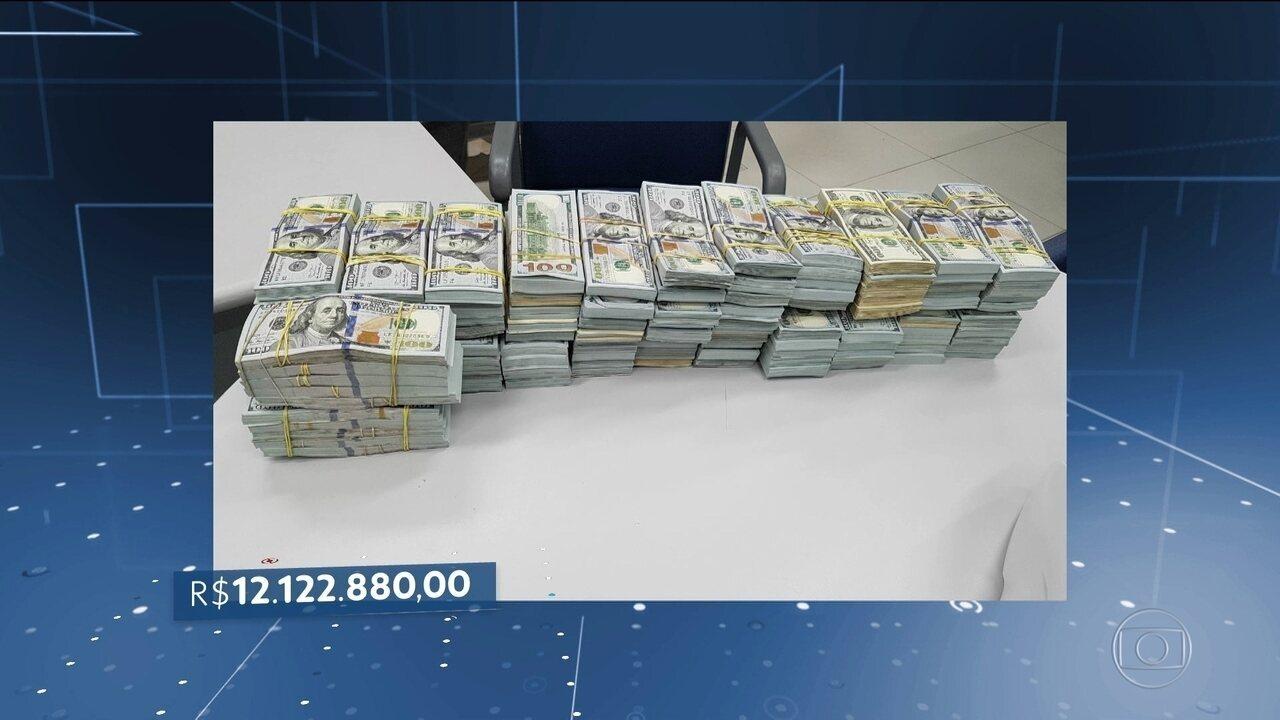 PRF faz no Paraná a maior apreensão de dinheiro vivo em estradas