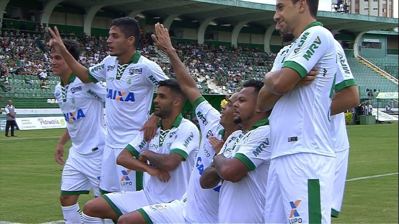 Melhores momentos de Guarani 0 x 1 América-MG pela Série B