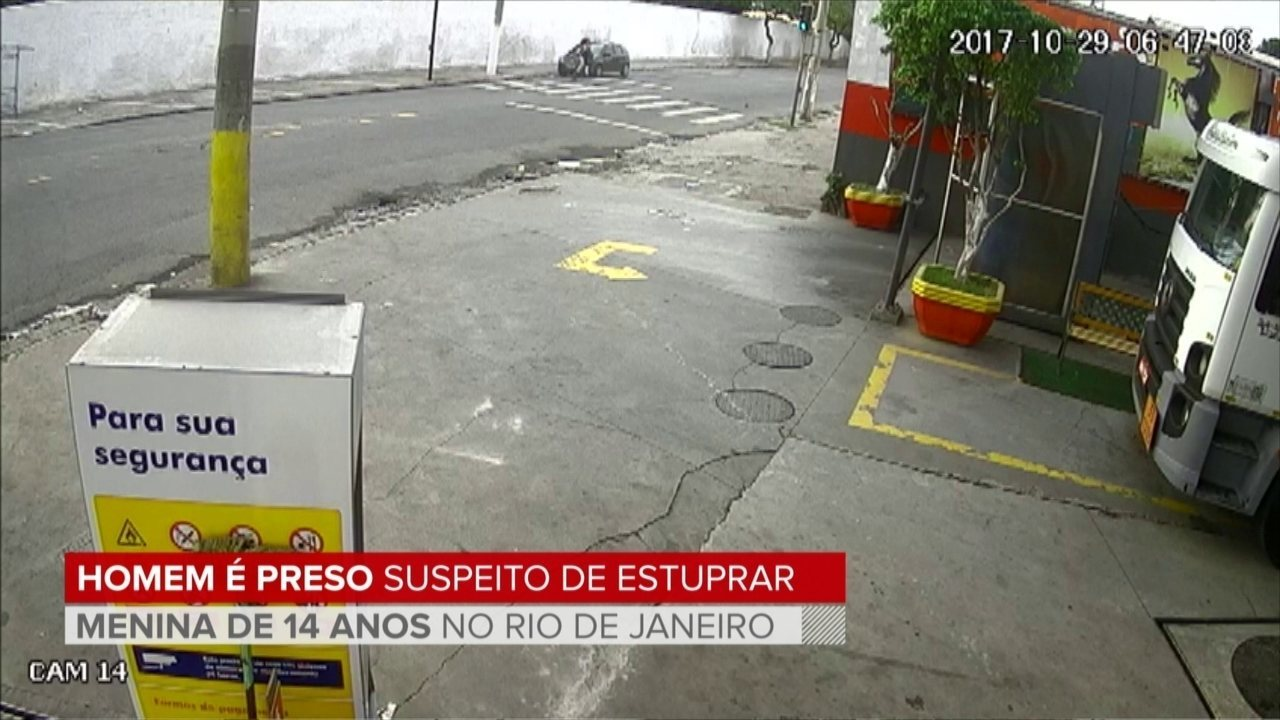 Homem é preso suspeito de estuprar menina de 14 anos no Rio de Janeiro