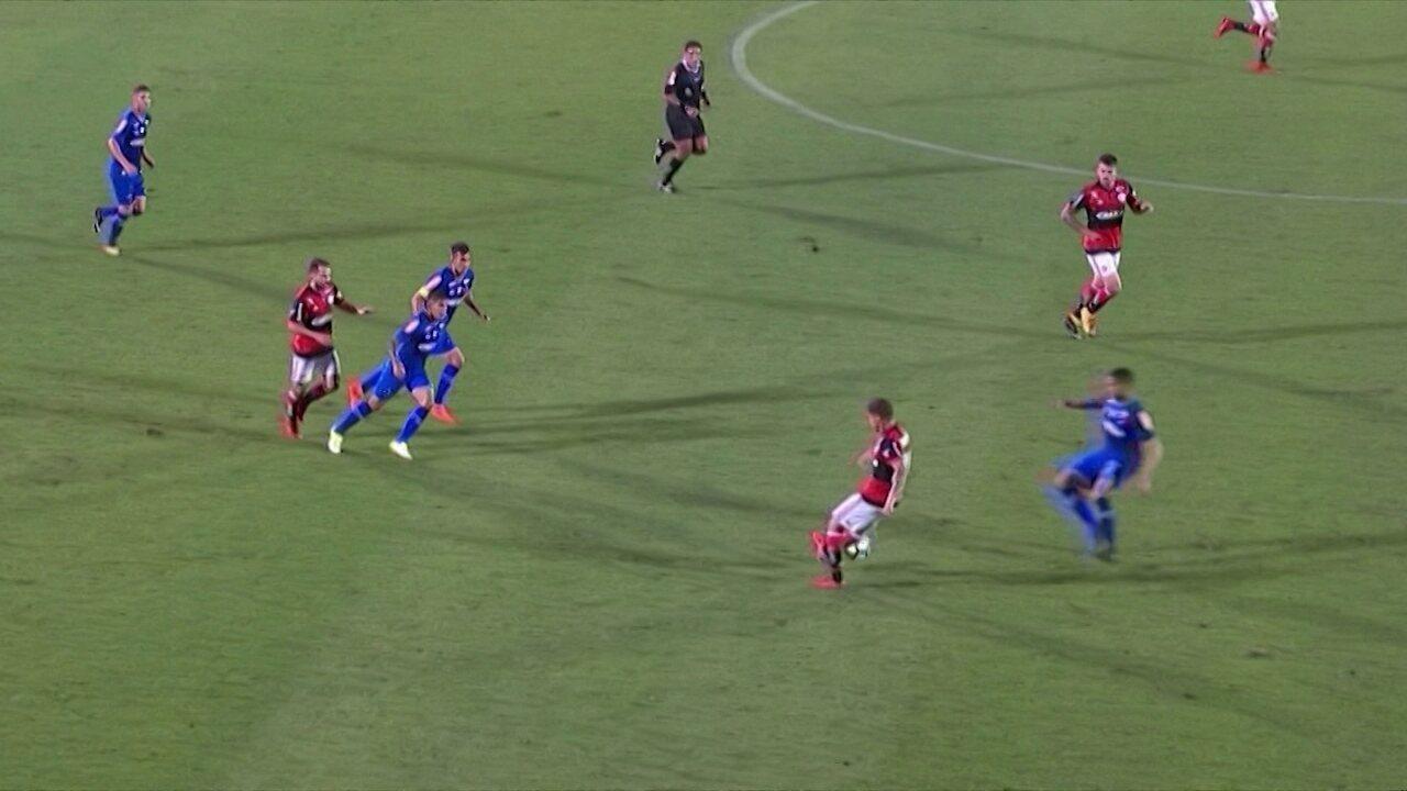 Everton, Allione, Cuellar, Bruno Henrique e Romero disputam o posto de abusado da rodada