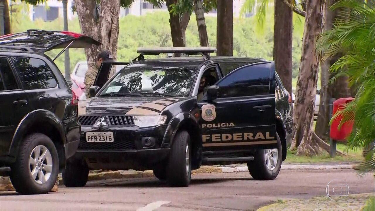Polícia Federal cumpre mandados na Casa Militar de Pernambuco