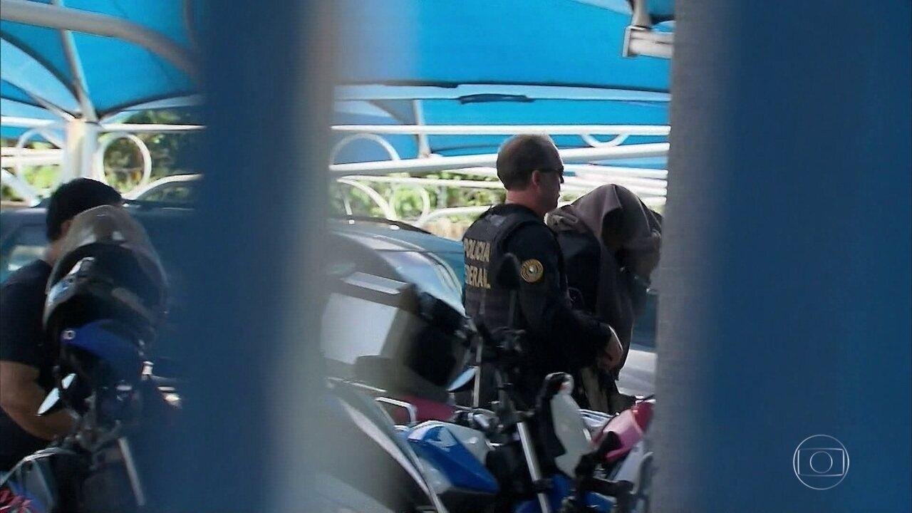 Entre os presos da Operação Torrentes estão quatro oficiais da PM de Pernambuco