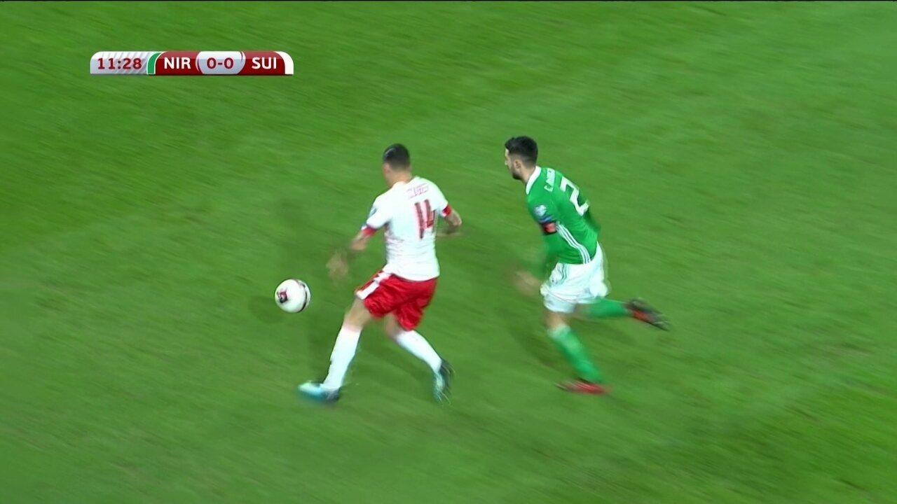 c9c941096f Veja como jogou a Suíça na vitória contra a Irlanda do Norte