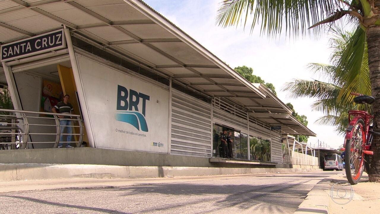 Consórcio que administra o BRT pode fechar 8 estações na Zona Oeste