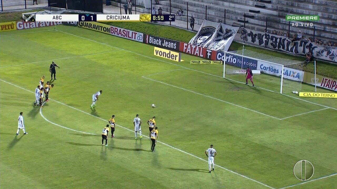 Em casa, ABC vence Criciúma; veja os gols