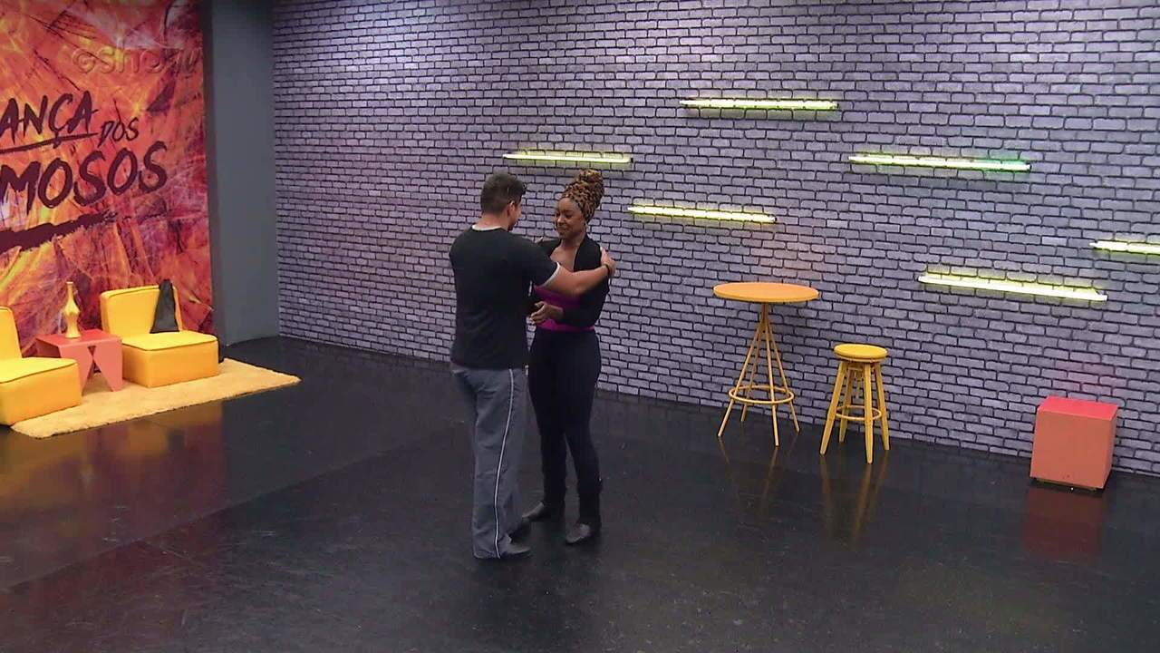Confira o ensaio de Cris Vianna para o 'Dança dos Famosos'